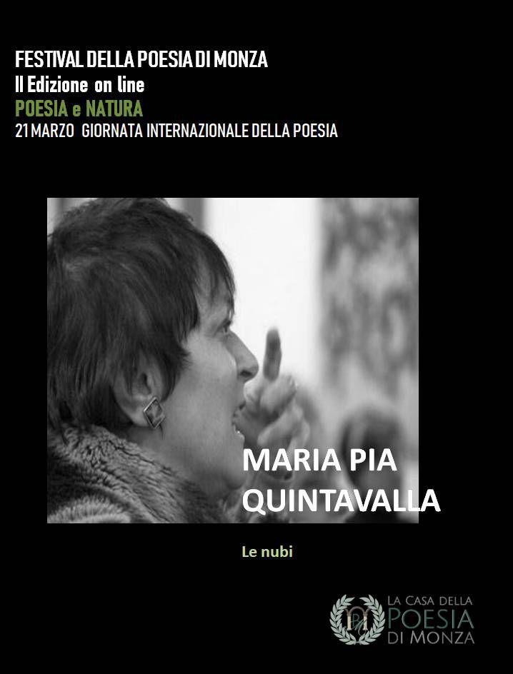 Festival Della Poesia di Monza II edizione online: Poesia e Natura 21 Marzo